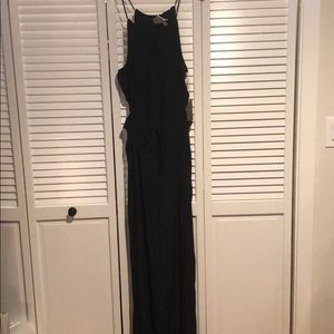 Rory Beca black maxi with size cut outs size m